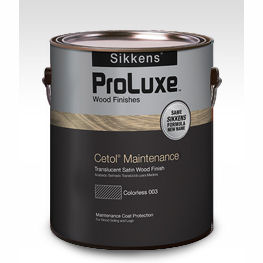 Sikkens Proluxe Cetol maintenance